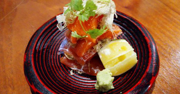 札幌の蕎麦、炉端、貝